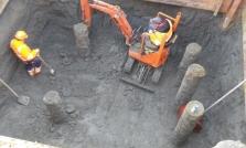 maken bouwput